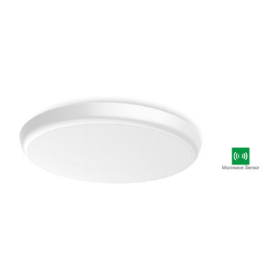 LED 2D Ceiling Light 12W (With Microwave Sensor)